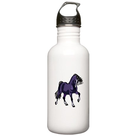 Fantasy Horse Purple Stainless Water Bottle 1.0L