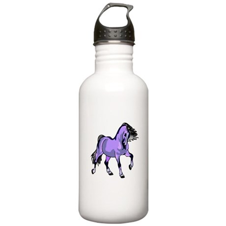 Fantasy Horse Lilac Stainless Water Bottle 1.0L