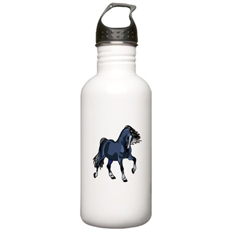 Fantasy Horse Blue Stainless Water Bottle 1.0L