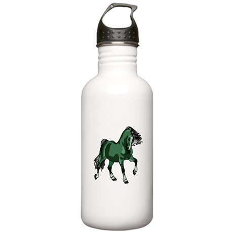 Fantasy Horse Green Stainless Water Bottle 1.0L