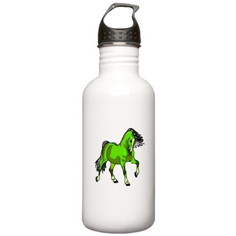 Fantasy Horse Lime Stainless Water Bottle 1.0L