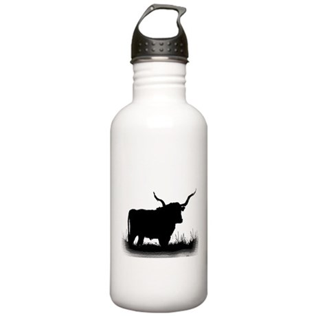 Longhorn Stainless Water Bottle 1.0L