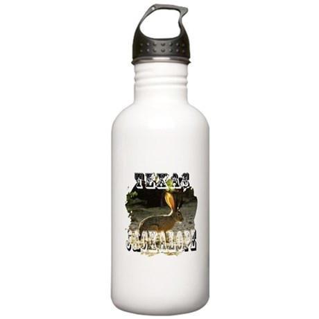 Texas Jackalope Stainless Water Bottle 1.0L