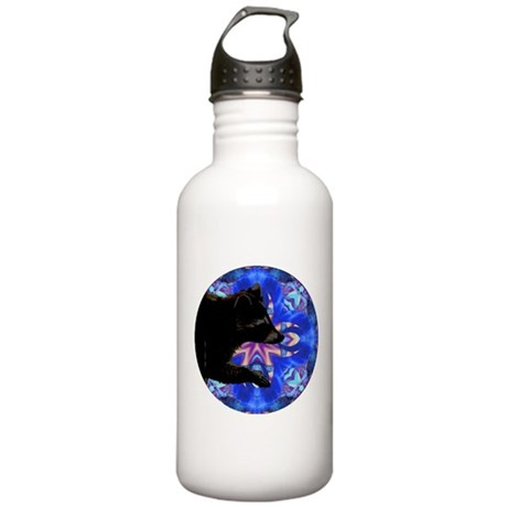 Racoon Kaleidoscope Stainless Water Bottle 1.0L