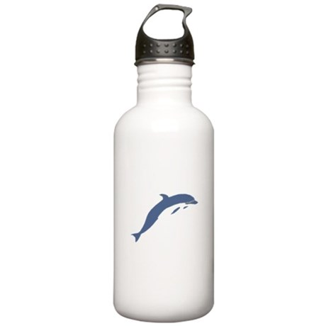 Blue Dolphin Stainless Water Bottle 1.0L