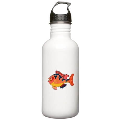 Colorful Fish Stainless Water Bottle 1.0L