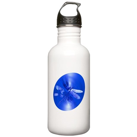Blue Dragonfly Stainless Water Bottle 1.0L