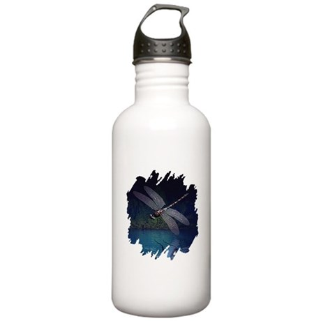 Dragonfly at Night Stainless Water Bottle 1.0L