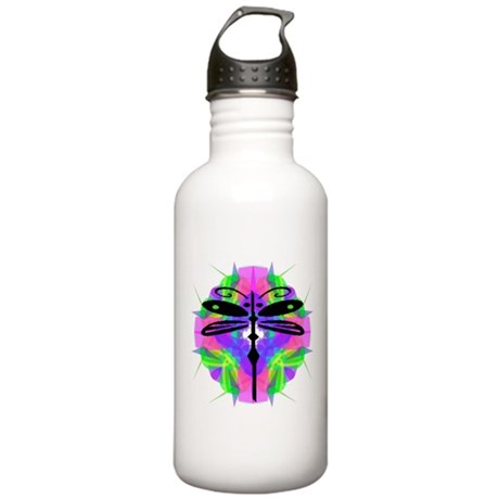 Kaleidoscope Dragonfly Stainless Water Bottle 1.0L