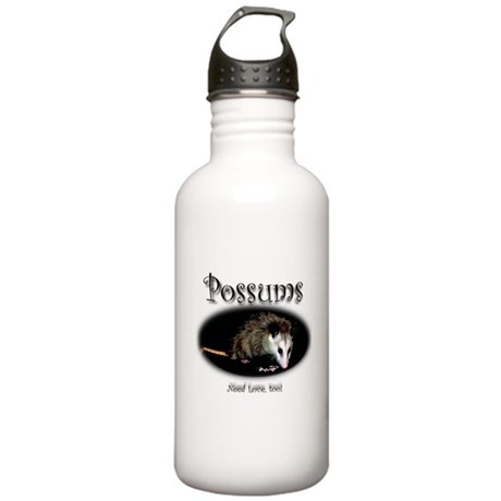 Possums Need Love Too Stainless Water Bottle 1.0L