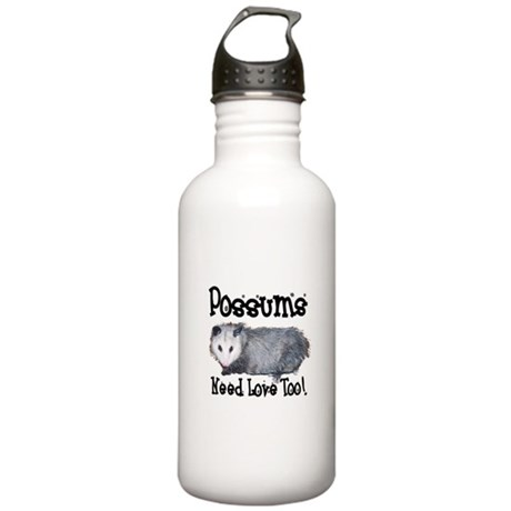 Possums Need Love Stainless Water Bottle 1.0L