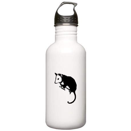 Possum Silhouette Stainless Water Bottle 1.0L