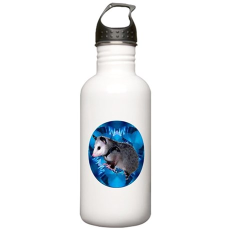 Baby Possum Kaleidoscope Stainless Water Bottle 1.