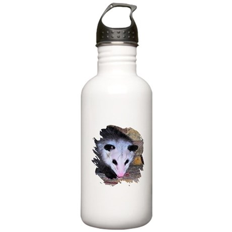 Virginia Opossum Stainless Water Bottle 1.0L