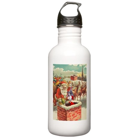 Santa's Helper Possum Stainless Water Bottle 1.0L