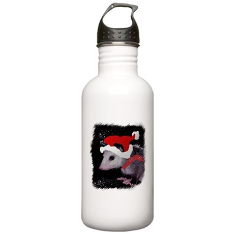 Possum Santa Stainless Water Bottle 1.0L
