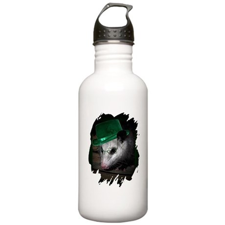 St Patrick's Day Possum Stainless Water Bottle 1.0