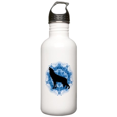 Wolf Silhouette Stainless Water Bottle 1.0L