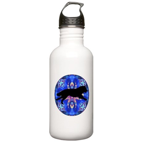 Running Wolf Stainless Water Bottle 1.0L