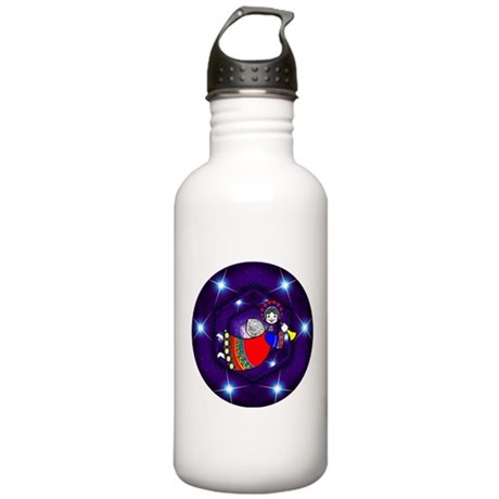Christmas Angel Stainless Water Bottle 1.0L