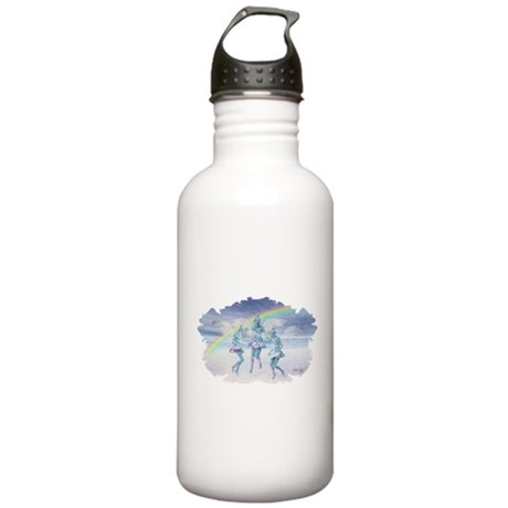 Angels and Rainbows Stainless Water Bottle 1.0L