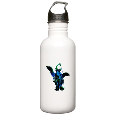 Powerful Angel - Blue Stainless Water Bottle 1.0L