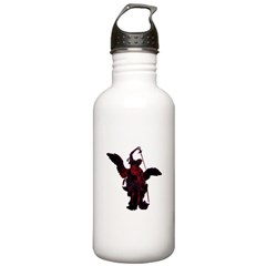 Powerful Angel - Red Stainless Water Bottle 1.0L