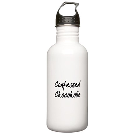 Confessed Chocoholic Stainless Water Bottle 1.0L