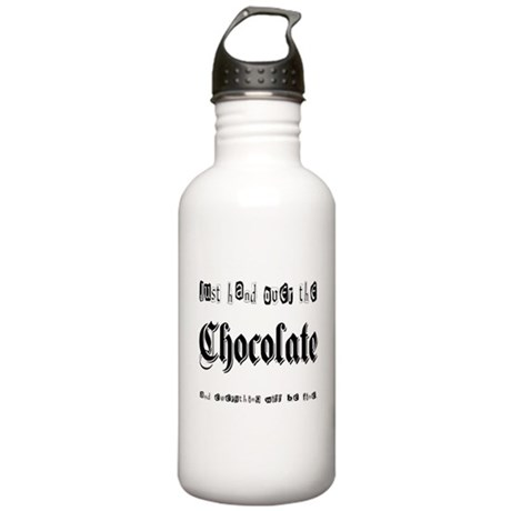 Hand Over the Chocolate Stainless Water Bottle 1.0