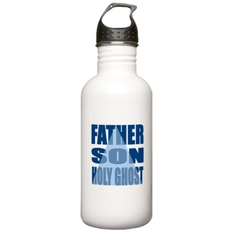 Dark Blue Trinity Stainless Water Bottle 1.0L