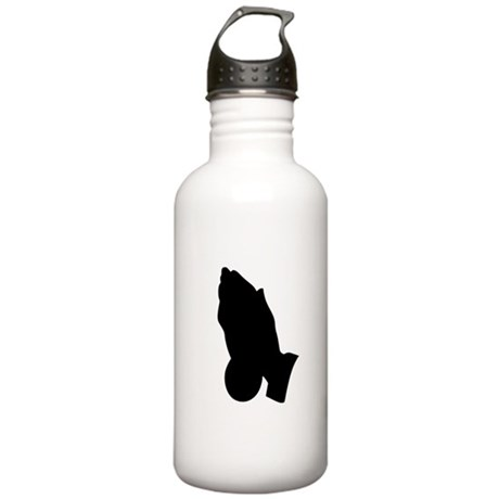 Praying Hands Stainless Water Bottle 1.0L