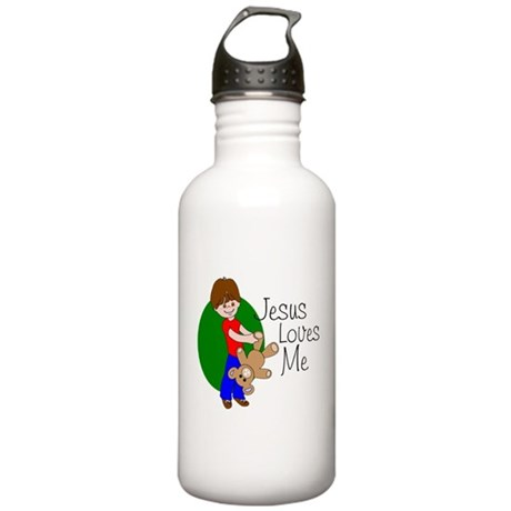 Jesus Loves Me Stainless Water Bottle 1.0L