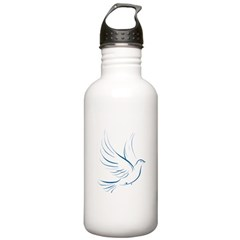 Dove of Peace Stainless Water Bottle 1.0L
