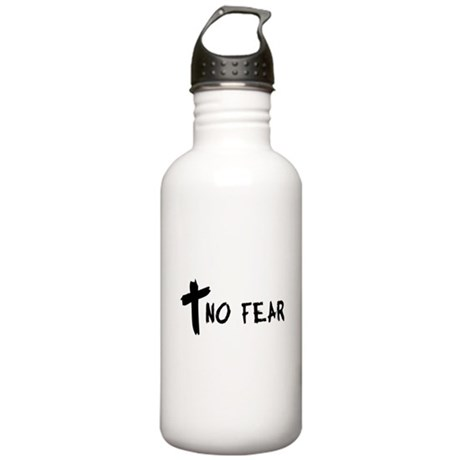 No Fear Cross Stainless Water Bottle 1.0L