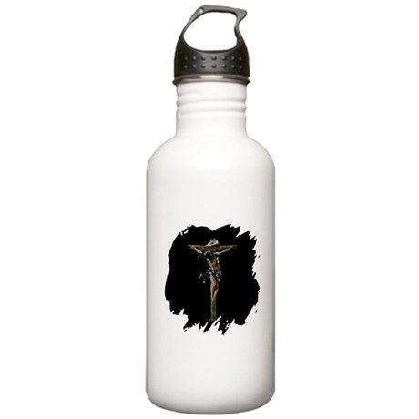 Jesus on the Cross Stainless Water Bottle 1.0L