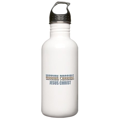 Mission Possible Stainless Water Bottle 1.0L