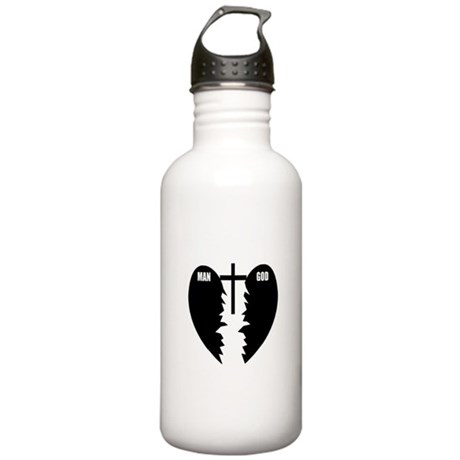 Jesus is the Bridge Stainless Water Bottle 1.0L