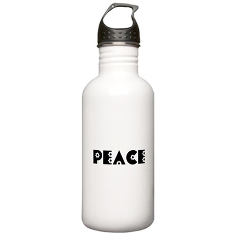 Peace Stainless Water Bottle 1.0L