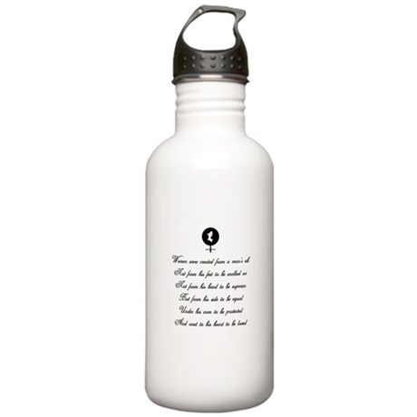 Women were Created Stainless Water Bottle 1.0L