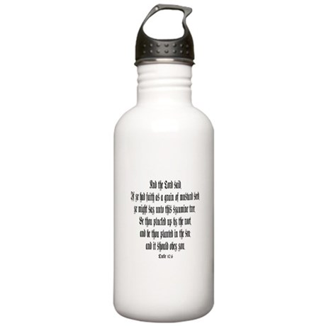 Luke 17:6 Stainless Water Bottle 1.0L