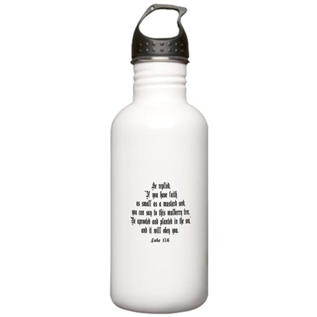 Luke 17:6 NIV Stainless Water Bottle 1.0L