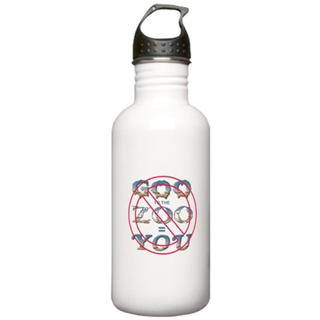 Anti-Evolution Stainless Water Bottle 1.0L