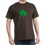 Shamrock Black T-Shirt