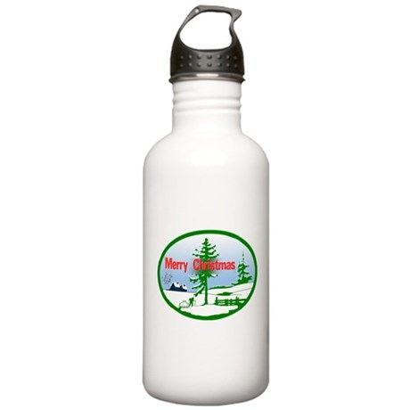 Winter Scene Stainless Water Bottle 1.0L