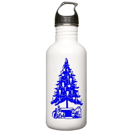 Christmas Tree Stainless Water Bottle 1.0L