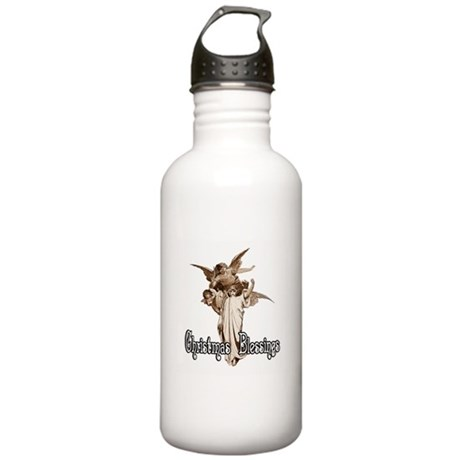 Christmas Blessings Stainless Water Bottle 1.0L