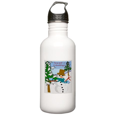 Season's Greetings Stainless Water Bottle 1.0L
