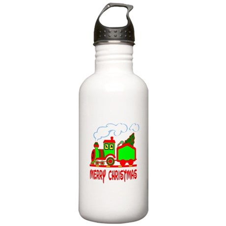Christmas Train Stainless Water Bottle 1.0L
