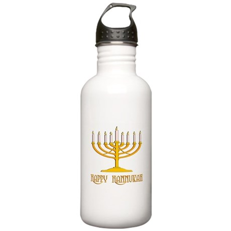 Happy Hanukkah Stainless Water Bottle 1.0L