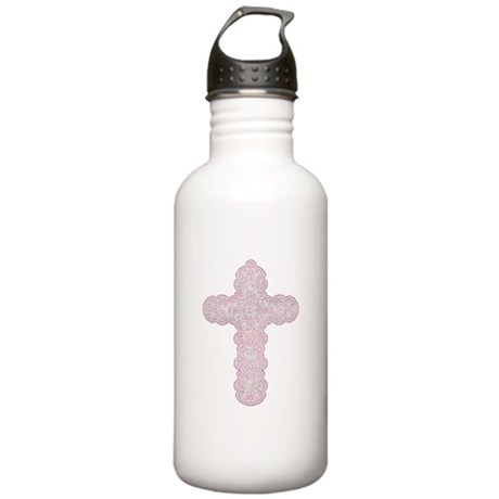 Pastel Cross Stainless Water Bottle 1.0L